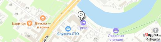 Русфинанс банк на карте Подольска