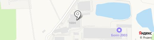 Компания Реал на карте Ерёмино