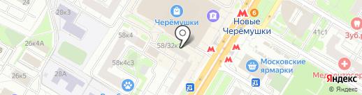 Мясной дворик на карте Москвы