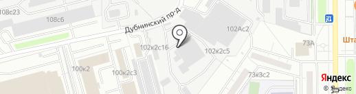 СКС медиа на карте Москвы