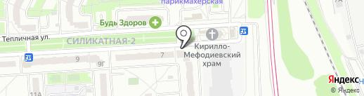 ТёмТёмыч на карте Подольска