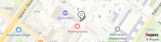 Лидер на карте Подольска