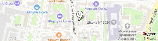 MMA Profi на карте Москвы