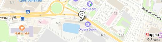 Банкомат, Банк ВТБ 24, ПАО на карте Подольска