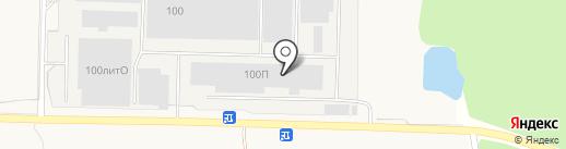 Еремино на карте Ерёмино