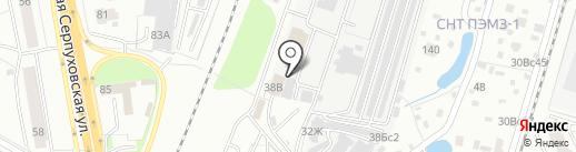 Подольск на карте Подольска
