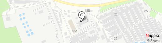Интерфлексо М на карте Климовска