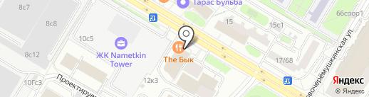 АвтономГаз на карте Москвы