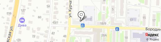 ТЛК Грузорейс на карте Подольска