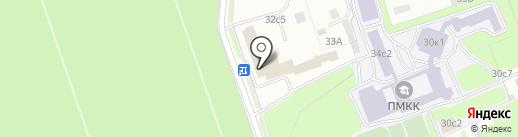 Шереметьевский на карте Москвы
