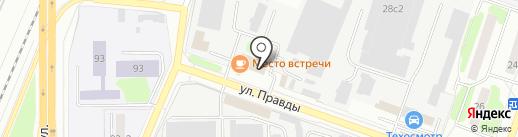 Магазин рыбы на карте Подольска