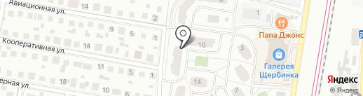 Эталон на карте Щербинки