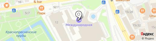 Российский экспортный центр на карте Москвы
