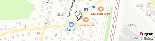 Мега-Импекс на карте Щербинки