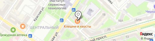 Гота на карте Подольска