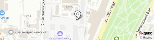 ТД ЗВЕЗДА на карте Москвы