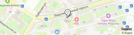 Строй-1 на карте Подольска