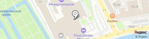 Консул на карте Москвы