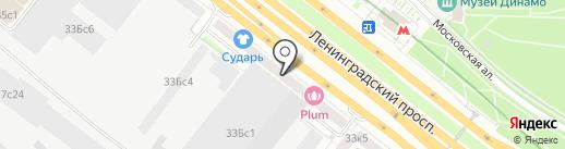 Colorimetr на карте Москвы