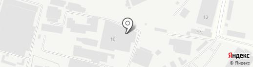 Стилькомплект на карте Климовска