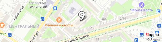Юлмарт на карте Подольска