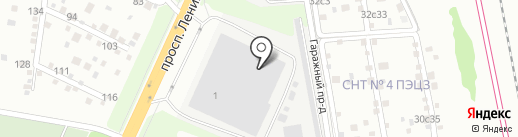 Архитектура и Сталь на карте Подольска