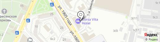 НеБабушка на карте Москвы