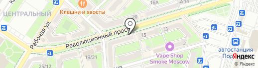 Восточный экспресс банк, ПАО на карте Подольска