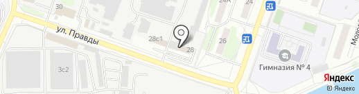 ЕвроАльянс+ на карте Подольска