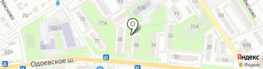 Отделение по делам несовершеннолетних на карте Тулы