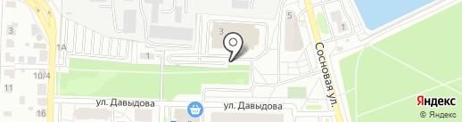 Аструс на карте Подольска