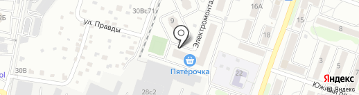 Стройинвест Технологии на карте Подольска