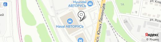 Suzuki на карте Подольска