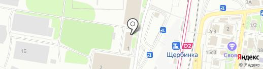 Столовая на карте Щербинки