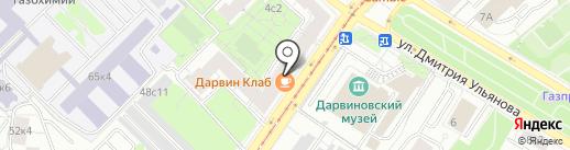 МВЕ на карте Москвы
