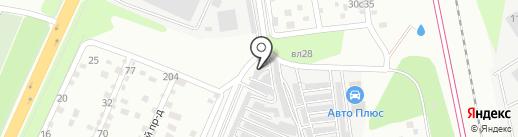 Автоплюс на карте Подольска