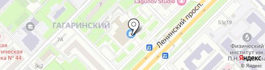 Часовая мастерская на карте Москвы