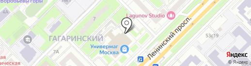 В Москве как дома на карте Москвы