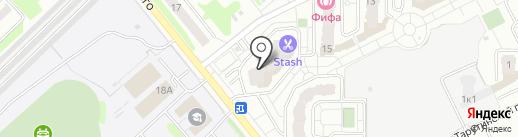Бородино на карте Подольска