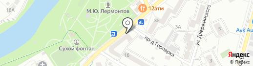 Вкусные продукты на карте Подольска