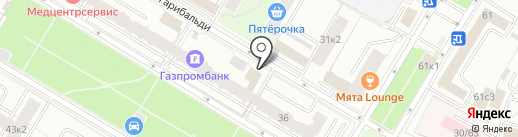 Maleton на карте Москвы