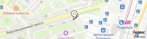 Бюро оценки и экспертизы на карте Подольска