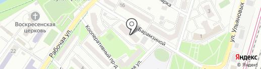 Эйфория на карте Подольска