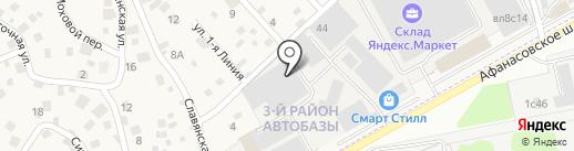 Партслидер на карте Грибков