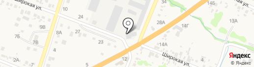 Магазин кровельных материалов на карте Новороссийска