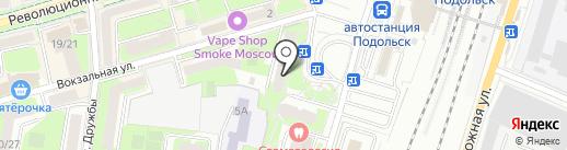 Жигуль на карте Подольска