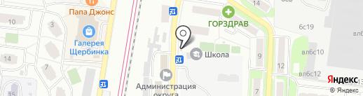 Магазин фастфудной продукции на карте Щербинки