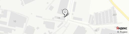 Аеромаг на карте Подольска