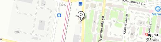 Магазин цветов на карте Щербинки