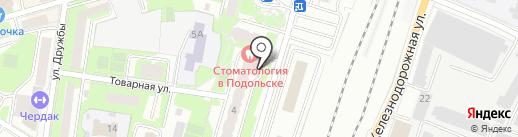 Строительная Экспертиза на карте Подольска